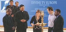 Mrs. Sarah Teather, Member of Commons, British Parliament inaugurated Divine Television Foundation U.K. LTD.